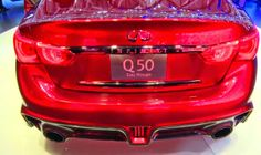 ps: Infiniti Q50 at Geneva Auto Show 2014