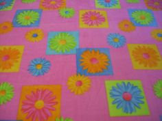 Flower Power Fleece Blanket MADE to ORDER by NorthwoodsNiche, $21.95