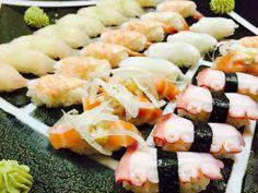 롯데백화점 초밥 ㅎㅎㅎ 연어초밥 문어초밥 새우초밥 짱짱