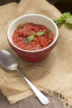 Cómo preparar salsa pomodoro. Receta italiana con Thermomix