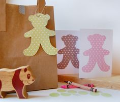 teddy bear invitations - free printables from Cupcakes for Clara