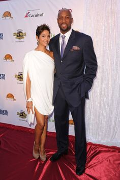 They are such a beautiful couple. Zo and Tracy Mourning