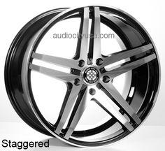"""19""""20"""" 22"""" V39 Wheels Rims for Mercedes Benz Audi  #AudioCity"""
