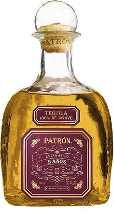 Enjoy @Patron Tequila Extra Añejo 5 Años, a rare spirit crafted from the delicate artistry of aging fine tequila.