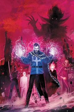 What Happens In Vegas… Will Be In Doctor Strange: Damnation By Nick Spencer, Donny Cates, And Rod Reis