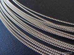 21 gauge Sterling Silver TWIST Wire, Dead Soft - 3 Feet