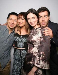 Grimm cast - San Diego Comic Con 2014