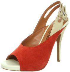 Luxury Rebel Women's Jag Slingback Pump, Blood Orange, 40 M EU/10 M US on shopstyle.com