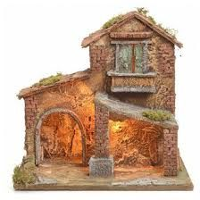 pesebres - Buscar con Google Ceramic Houses, Wood Planters, Angel Ornaments, Christmas Nativity, Stone Houses, Miniature Houses, Fairy Houses, Wood Art, Amazing Art