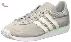 Adidas Country OG, Basses Femme, Blanc Cassé (Clear Onix/Off White/Ftwr White), 40 2/3 EU - Chaussures adidas (*Partner-Link)