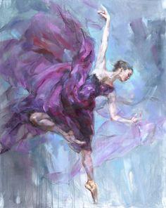 Anna Art Publishing is proud to present Alluring an original painting by Anna Razumovskaya For more info visit Ballerina Painting, Ballerina Art, Ballet Art, Oil Painting Flowers, Painting & Drawing, Peacock Wall Art, Dance Paintings, Flower Art, Art Drawings