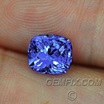 Fine Tanzanite blue violet gem with American Cut Tanzanite Gemstone, Gem Stones, All That Glitters, Color Card, Rocks And Minerals, Pantone Color, Crystals And Gemstones, Mother Nature, Diana