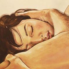 Essas ilustrações encantadoras mostram um erotismo sem tabus da vida íntima de um casal.