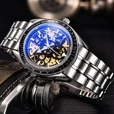 IK Colouring men s automatic mechanical skeleton watch watch manufacturer ea74e383cd701