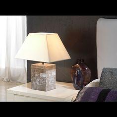 Lámpara de Mesa Moderna Java #Ambar #Muebles #Deco #Interiorismo #Iluminacion   http://www.ambar-muebles.com/lampara-de-mesa-moderna-java.html