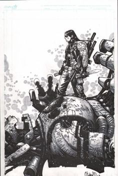 Winter Soldier - Chris Bachalo