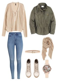 """"""""""" by aprilsabi on Polyvore featuring H&M, Olivia Burton, Dsquared2, BP. and McGuire"""
