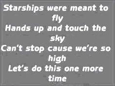 Nicki Minaj - Starships Lyrics [HD]