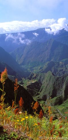 Trekking is popular on Reunion island, France. The caldera Cirque de Mafate is a stunning destination to visit! Re-pinned by #Europass