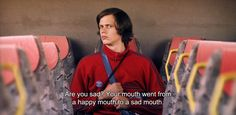 """― Simple Simon (2010) """"Are you sad? Your mouth went from a happy mouth to a sad…"""