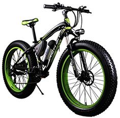 Cyrusher Extrbici Electric Fat Bike Mountain Bicycle Snow Bike Cruiser Ebike Motor Lithium Battery Dual Oil Brakes with Shimano 7 Speeds System inch Fat Tire Suspension Fork Folding Mountain Bike, Electric Mountain Bike, Mountain Bicycle, Electric Bicycle, Mountain Biking, Bike Folding, Mountain Bikes For Sale, Mountain Bike Reviews, Best Mountain Bikes