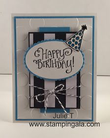 Stampin Gala: BETTER TOGETHER BIRTHDAY CARD
