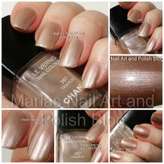 Chanel Trapeze 367, Golden Cage Holiday 2009 coll. - swatches