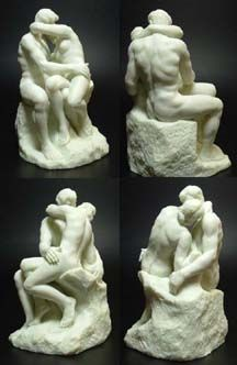 El Beso, de Rodin