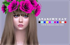 Amnezia Crown at Anarchy-Cat • Sims 4 Updates