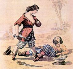 Mary Read (died 1721) was an English pirate. She is chiefly remembered as one of only two women (her comrade, Anne Bonny, was the other) known to have been convicted of piracy during the early 18th century, at the height of the Golden Age of Piracy.
