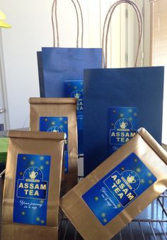 Test packaging for my own brand of FIREFLY ASSAM TEA I will be launching soon.