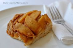 Upside Down Apple Cake [E]  This genius recipe spread through the THM community like Wild Fire. Sarah Criddle came up with brilliant idea ...