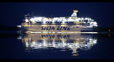 ... and Silja line the other, competitor for Viking line.