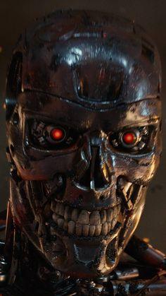 Skynet Terminator, T 800 Terminator, Terminator Movies, Terminator Tattoo, Arnold Schwarzenegger, Man In Black, Robot Wallpaper, Cute Skeleton, Arte Robot