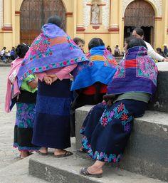 Mujeres indigenas, region altos, San Cristobal de las Casas, Chiapas