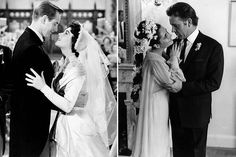 Elizabeth Taylor with Don Taylor in Father of the Bride (1950); with Richard Burton, 1964