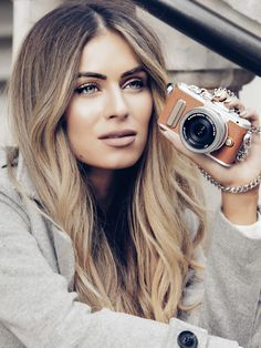 Lydia Elise Millen | light hair with natural roots