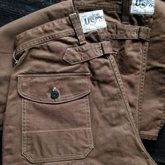 Freewheelers Longshoreman Overalls, Union Special. (desolation row, workwear, made in japan)