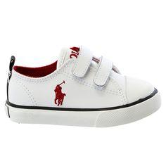 5ea19b2e0f87 POLO Ralph Lauren Falmuth Low EZ Fashion Sneaker Shoe - Little Kid