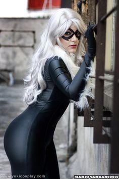 Black Cat - Spiderman by Yukilefay.deviantart.com