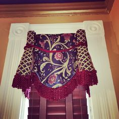Gorgeous window treatment originally posted by Rachel Gregersen of Chicago.