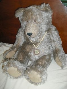 Cooperstown Bears Vintage Teddy Jointed Mohair 20""