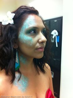 By Sarah H. #SpecialEffects #Makeup #Mermaid @bloomdotcom