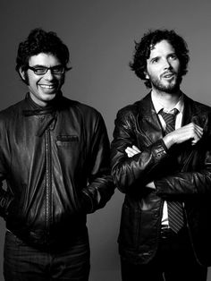 Flight of the Conchords - Jemaine Clement & Bret McKenzie - love love love these guys!