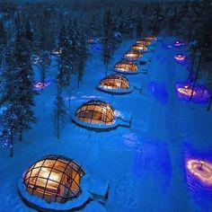 Hotel Kakslauttanen Finland : @kakslauttanenarcticresort