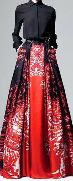 Dress — Neoprene full skirt