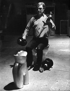Eve Arnold: Andy Warhol in The Factory, New York, 1964
