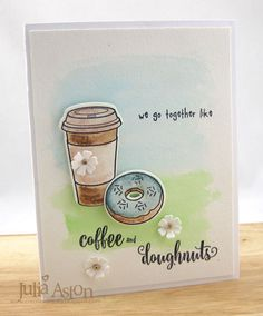 Create With Me: Spring Coffee Lovers Blog Hop!