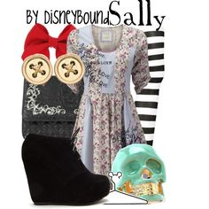 """""""Sally"""" by lalakay on Polyvore. (Love the dress!)"""