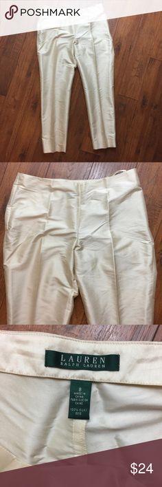 Lauren Ralph Lauren Pants Lauren Ralph Lauren Pants with a little stain on the left butt Lauren Ralph Lauren Pants